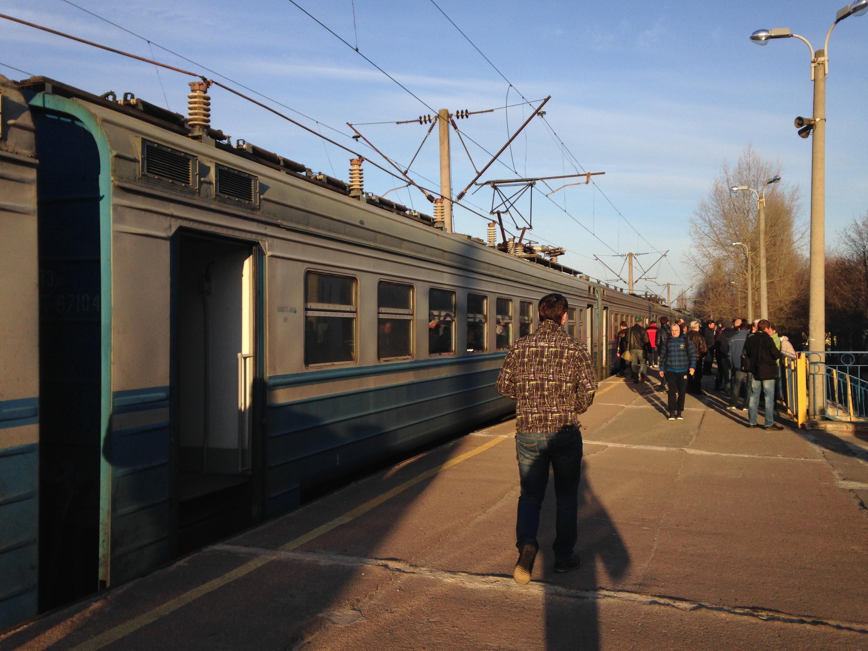 Начиная с 6:30 поезда из вокзала Славутича отправляются на ЧАЭС