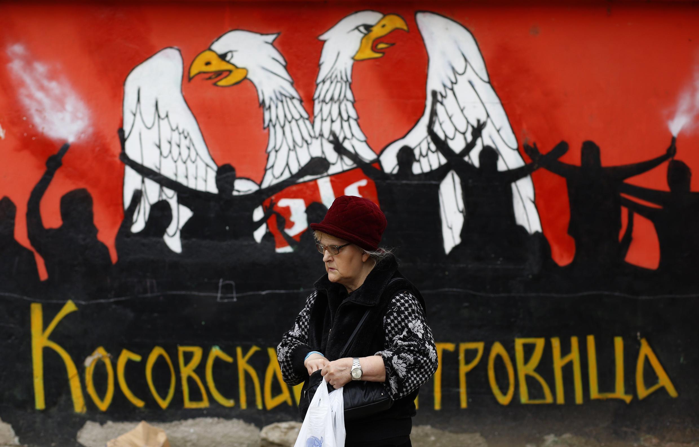 Митровица во время выборов 03/11/2013