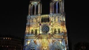 La cathédrale Notre-Dame de Paris, avant le sinistre (image d'illustration).