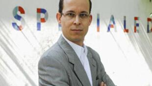 Mathieu Guidère, universitaire, professeur de sciences politiques et de veille stratégique, Saint-Cyr, en 2007.