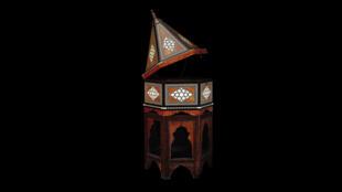 Boîte à Coran, période ottomane, XVIIe siècle.