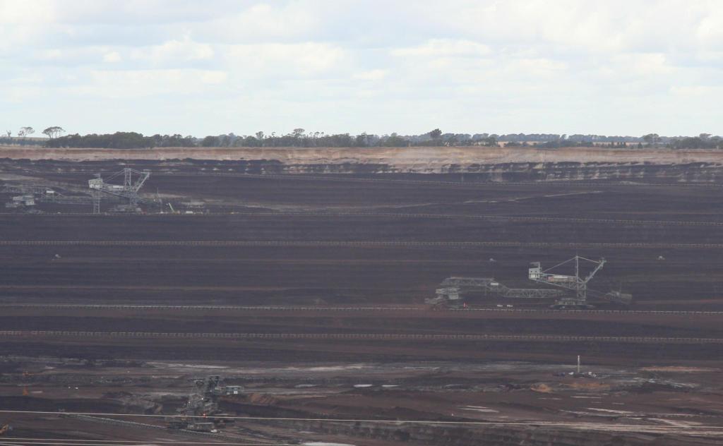 存档图片:澳大利亚是全球最大的煤矿开采国之一