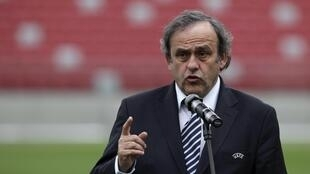 Michel Platini, président de l'UEFA.