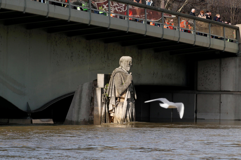 Зуав – статуя на мосту Альма, которая служит индикатором наводнений уже второе столетие подряд.