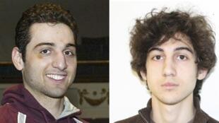 Os irmãos Tsarnaev, suspeitos de terem planejado atentado em Boston