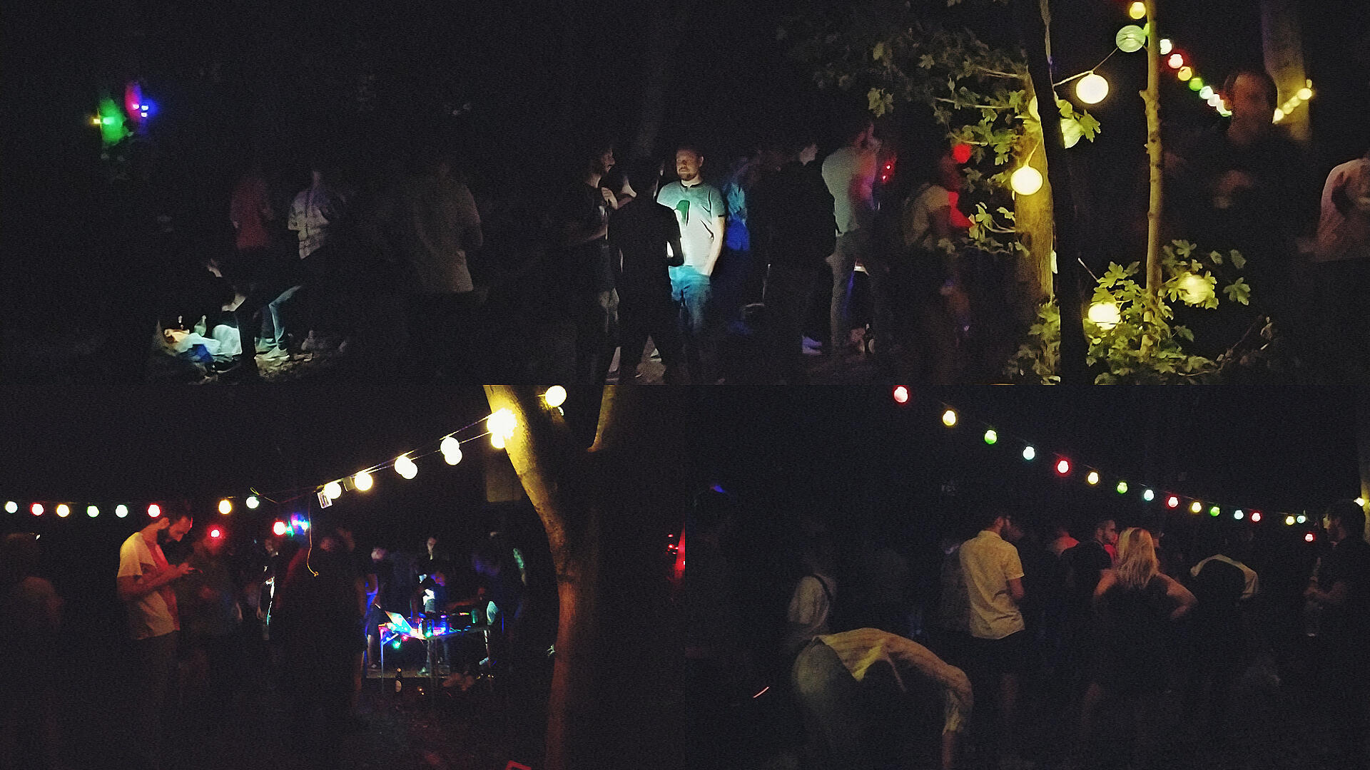"A ""free party"" in the Bois de Vincennes just outside Paris, earlier this summer."