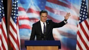 Mitt Romney n'a jamais digéré sa défaite et continue de penser qu'il aurait fait un meilleur président que Barack Obama.(photo du 7 novembre 2012 à Boston)
