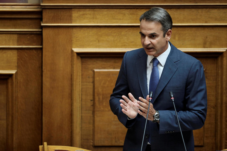 O primeiro-ministro grego, Kyriakos Mitsotakis, teme um nova onda migratória em seu país, que se tornou novamente a principal porta de entrada de refugiados no bloco europeu.