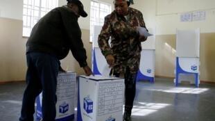Día de elecciones en Soweto, Johannesburgo, este 8 de mayo de 2019.