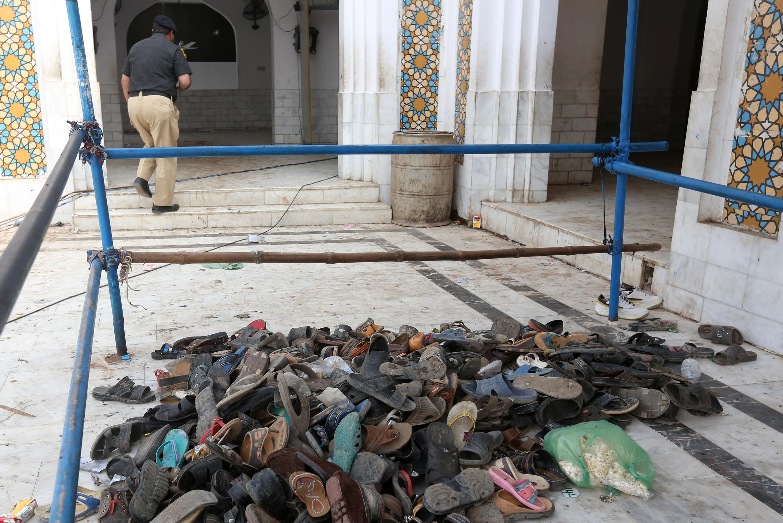 巴基斯坦南部一座蘇菲派聖殿遭到自殺襲擊攻擊
