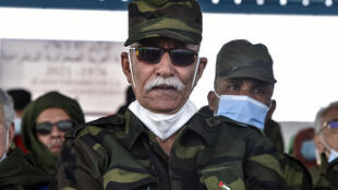 Brahim Ghali, leader of Polisario Front, was allowed into Spain to be treated for Covid-19