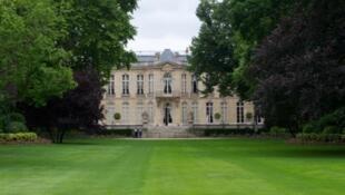 Hotel Matignon, sede do governo francês em Paris.