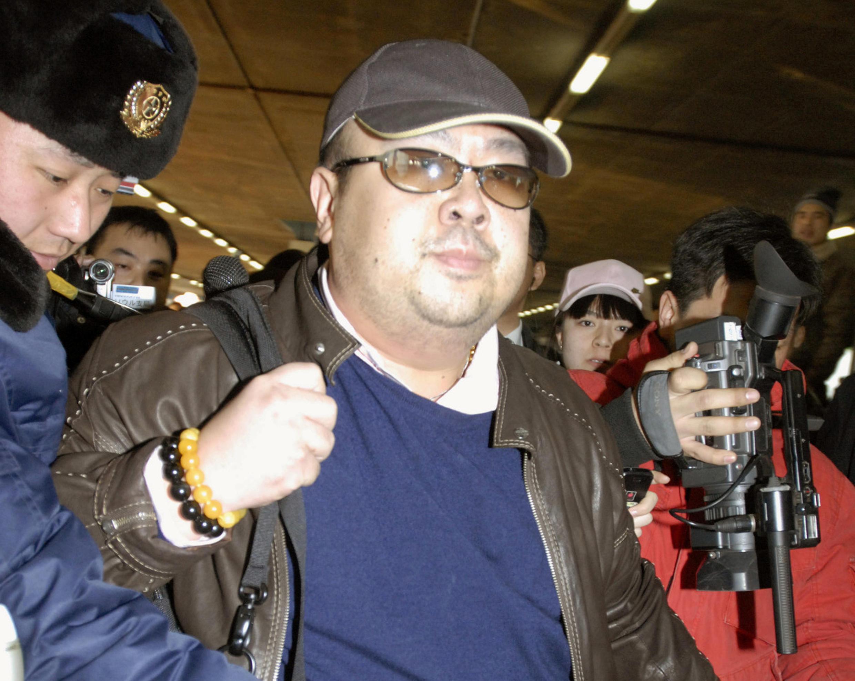 Ким Чен Нам в пекинском аэропорту, 11 февраля 2007.
