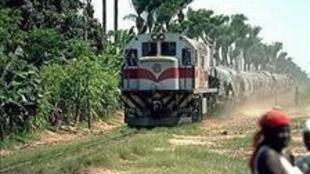 Comboio da linha  dos Caminhos de Ferro de Benguela