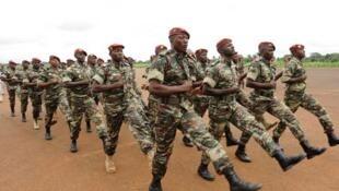 Les bérets rouges de l'armée malienne (image d'archive).