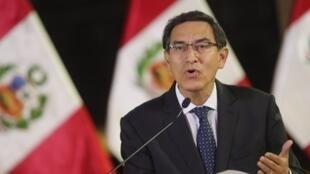 Le président péruvien Martin Vizcarra fait l'objet d'une procédure de destitution du Parlement.
