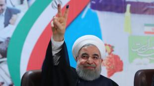 El presidente Hasan Rohani.