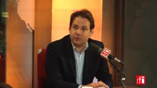 Matthias Fekl, conseiller régional (PS), ici le 25 septembre 2017.