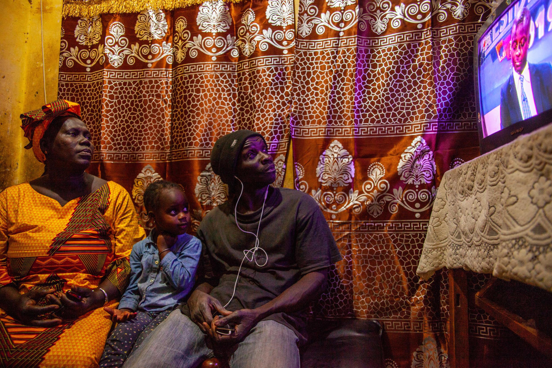 Une famille sénégalaise, à Dakar.