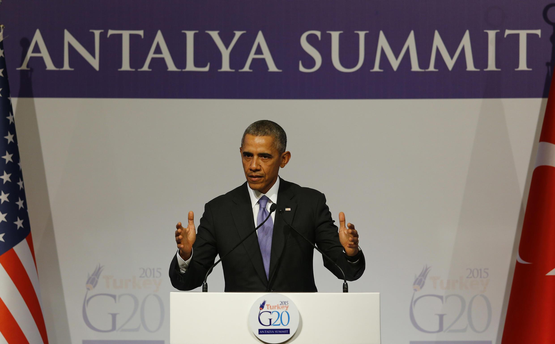 O presidente norte-americano Barack Obama lembrou que os refugiados sírios são os mais afetados pelo terrorismo.