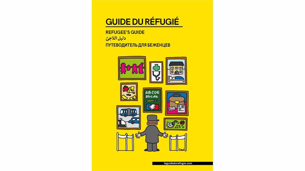 «Le guide du réfugié» est à la base un site internet.