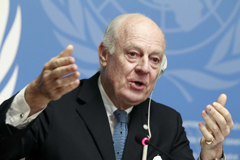 Спецпосланник ООН по Сирии Стаффан де Мистура