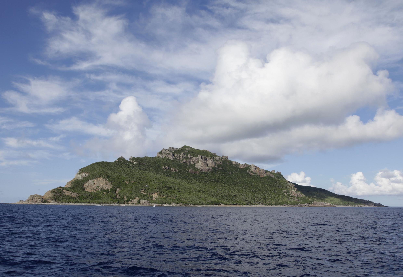 Một trong những đảo thuộc quần đảo Trường Sa.