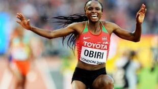 Mwanariadha wa Kenya, Hellen Obir ametwa medali ya dhahabu katika mbio za nyika nchini Denmark