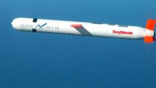 图为台湾云峰巡航导弹