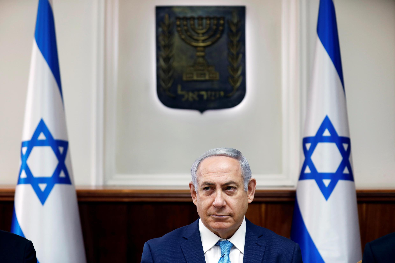 بنیامین نتانیاهو، نخست وزیر اسرائیل در جلسه کابینه این کشور