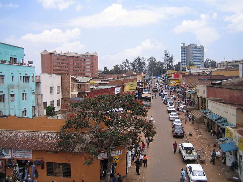 Le centre-ville de Kigali, au Rwanda. (2006)