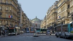 Avenue de l'Opera, central Paris