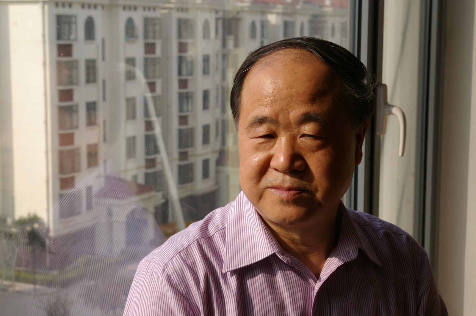 L'écrivain chinois Mo Yan dans son appartement à Gaomi.