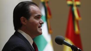 Mauricio Claver-Carone, ici le 15 janvier 2020 en Bolivie.