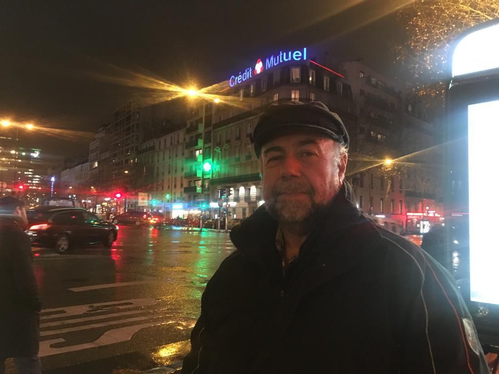 El chileno Francisco Peña Riveros, ex miembro del Frente Patriótico Manuel Rodríguez, es refugiado político en Francia.