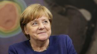 La chancelière allemande Angela Merkel, le 11 juillet 2017, à Münich.