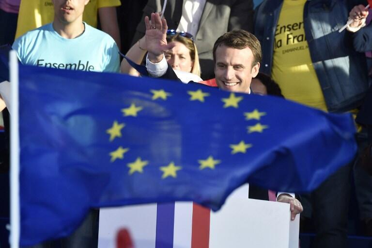 Châu Âu, điểm nhấn trong chính sách ngoại giao của Emmanuel Macron.