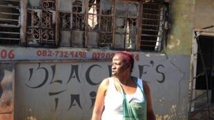 A Mamelodi, un township de Pretoria, plusieurs commerces ont été pillés et certains brûlés.