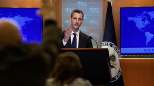美国国务院发言人普赖斯资料图片
