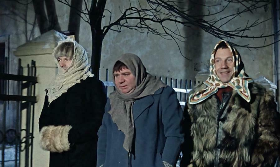 Кадр из фильма «Джентельмены удачи»