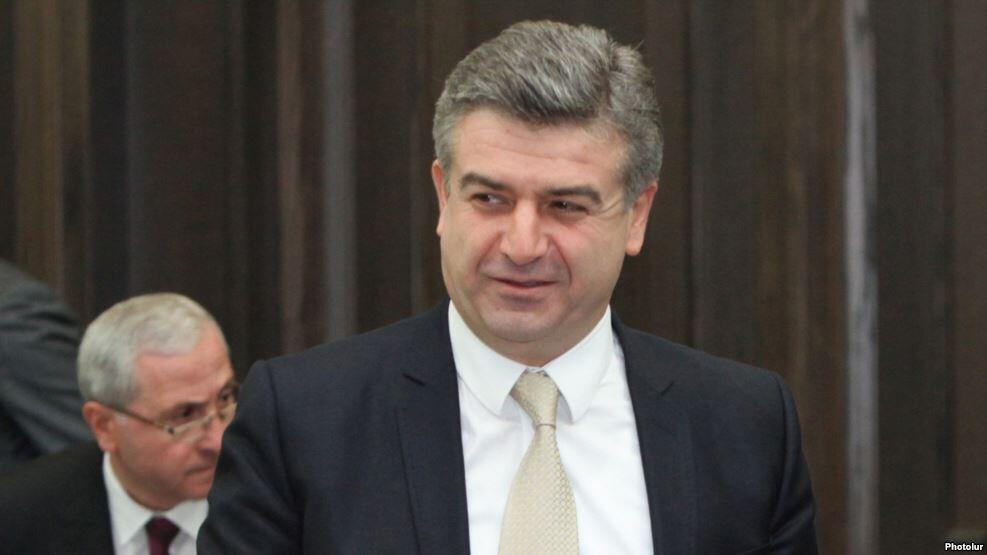 Новый премьер-министр Армении Карен Карапетян