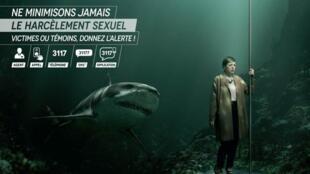 La campaña contra el acoso sexual en los transportes públicos de París fue lanzada el 5 de marzo de 2018.