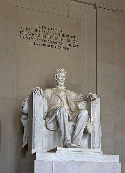 Le Lincoln Memorial, à Washington.