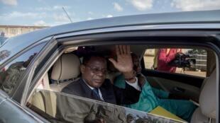 L'opposant Maurice Kamto après sa libération de prison à Yaoundé, le 5 octobre 2019. (image d'illustration)