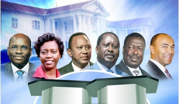 Wagombea wakuu wa  urais nchini Kenya