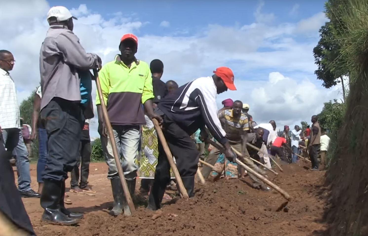 Jour d'Umuganda à Kigali.
