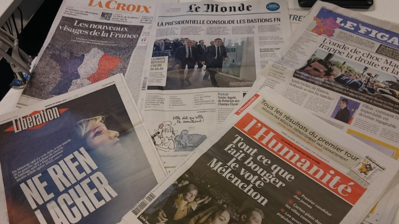 Diários franceses 25.04.2017