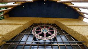 La pagode du bois de Vincennes est le principal lieu de culte de l'union boudhiste de France.