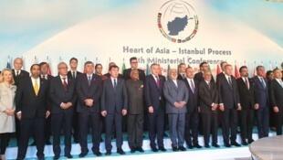 """نشست """"قلب آسیا - روند استانبول""""، روزهای ٨ و ٩ دسامبر ٢٠۱٩ با حضور وزیران خارجه و مقامهای ارشد کشورهای عضو، در استامبول تشکیل شد."""