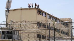Motín en la cárcel Topo Chico, en Monterrey, México, el pasado 19 de junio de 2017.